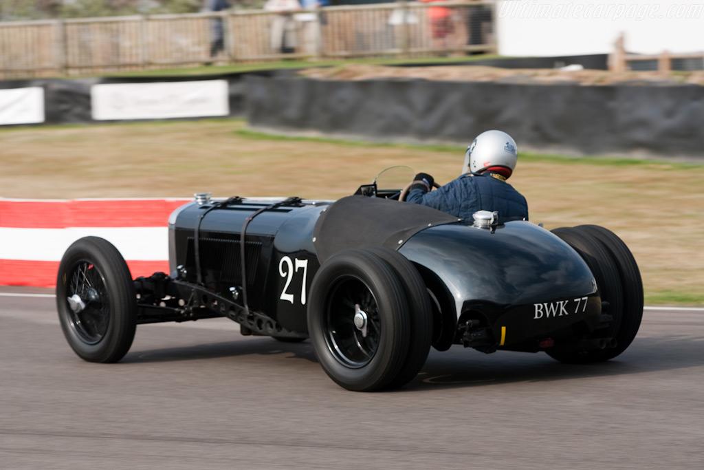 Jaguar Ss 100 Old Number 8 2009 Goodwood Revival