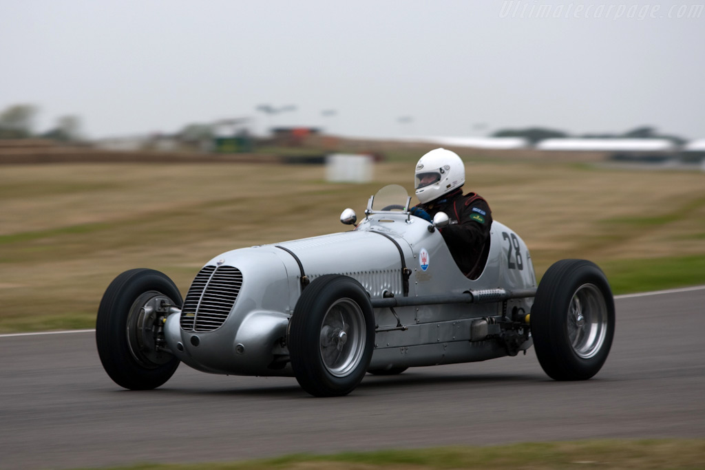 Maserati 6CM - Chassis: 1556   - 2009 Goodwood Revival