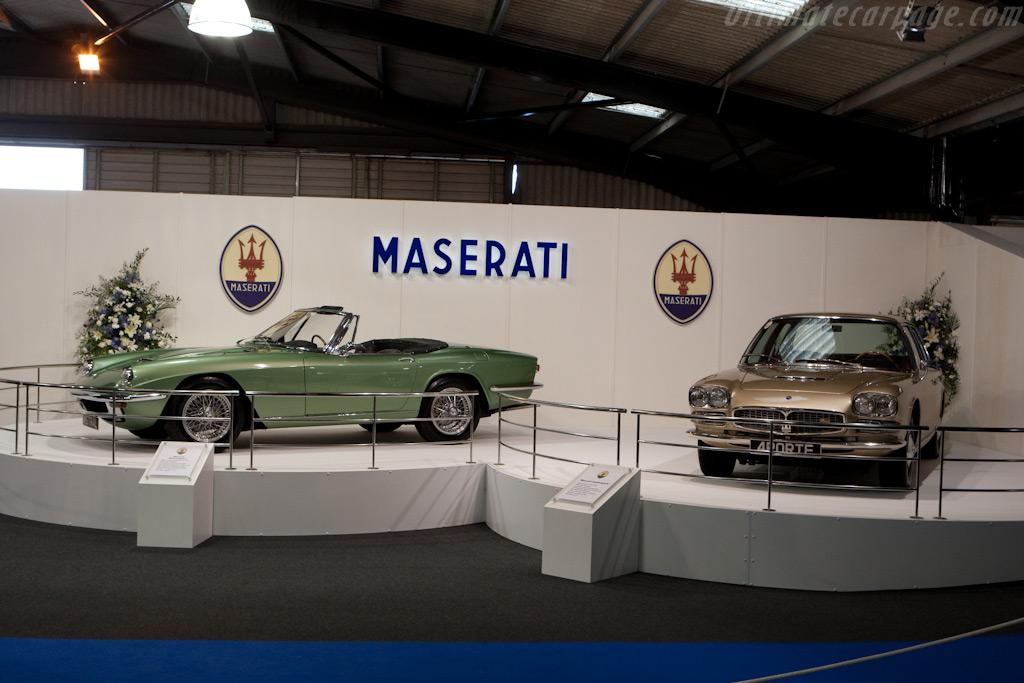 Maserati Display    - 2009 Goodwood Revival