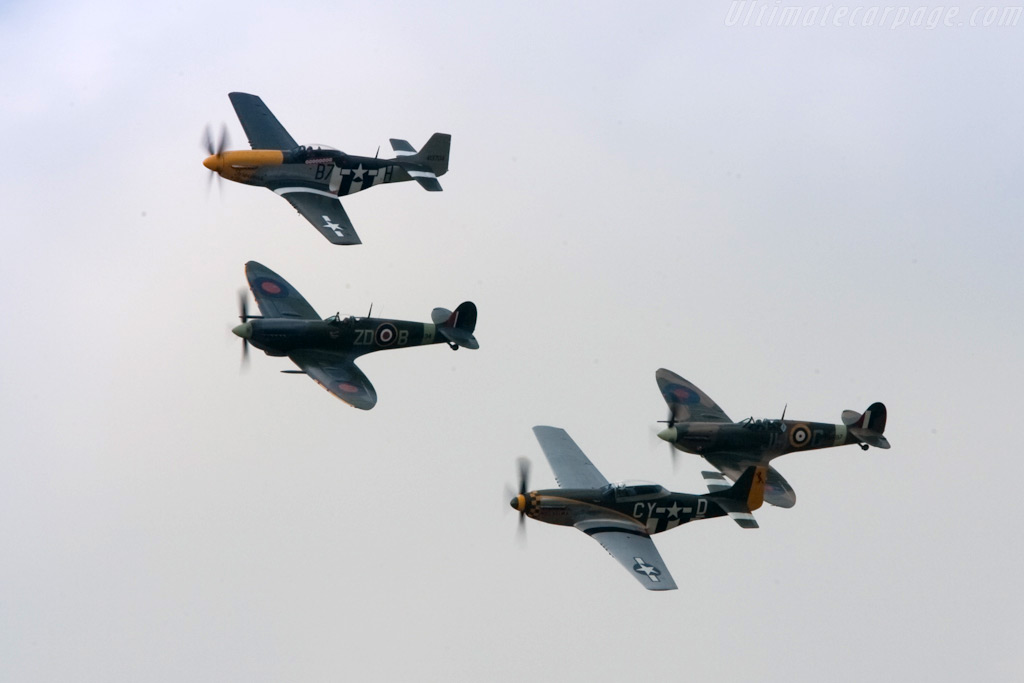 Spitfires and Mustangs    - 2009 Goodwood Revival