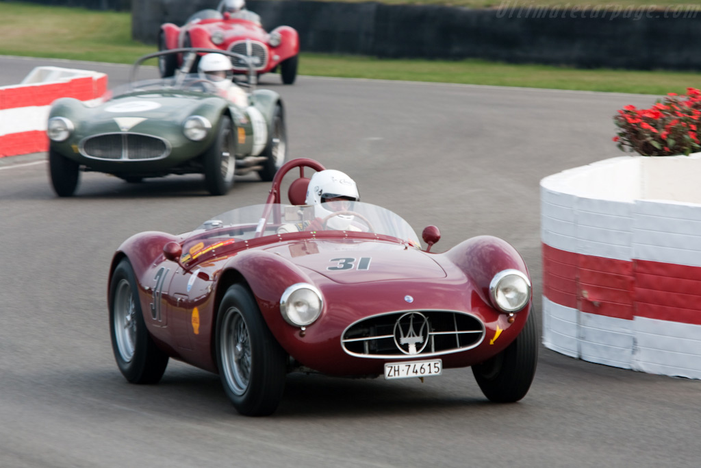 Three Maserati A6 GCSs    - 2009 Goodwood Revival