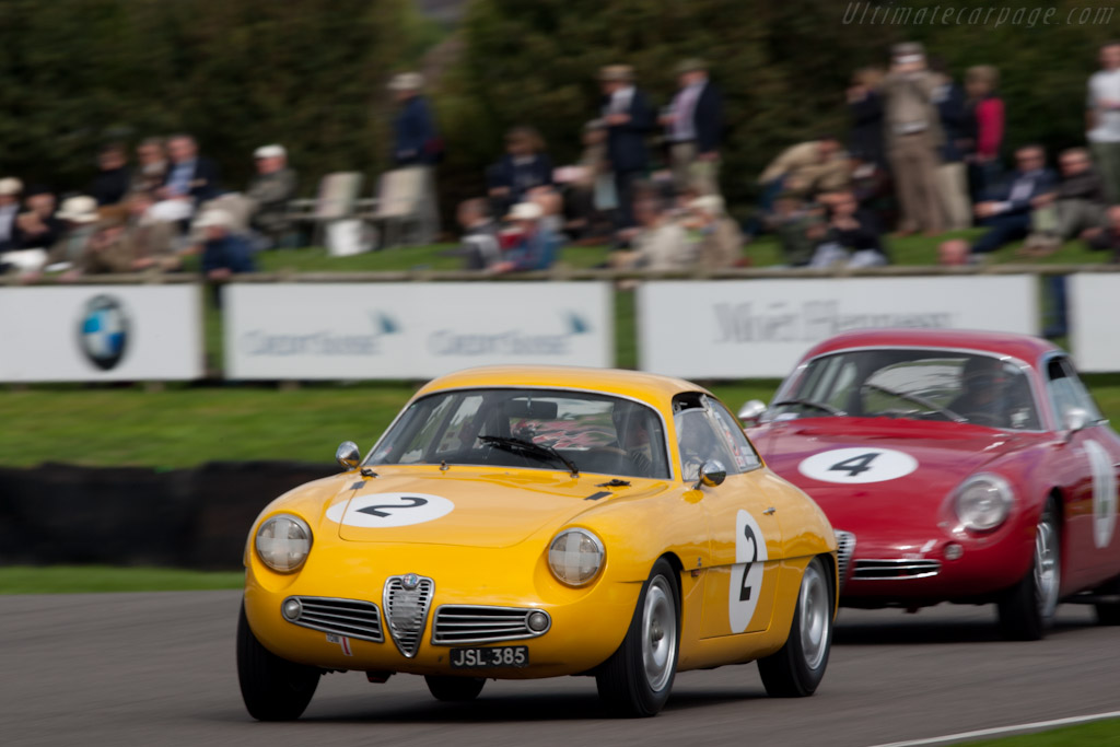 Alfa Romeo Giulietta SZ    - 2010 Goodwood Revival