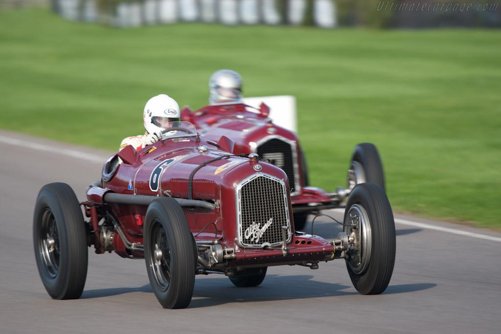 Alfa Romeo Tipo B - Chassis: 50003   - 2010 Goodwood Revival