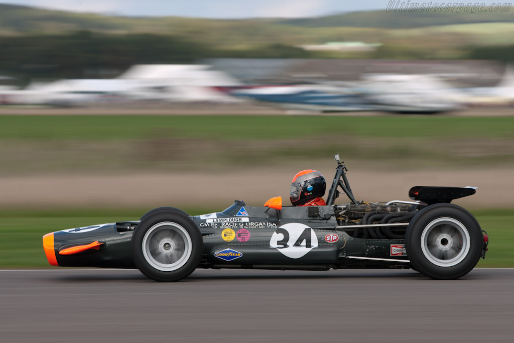 BRM P133 - Chassis: P133-01 - Entrant: Robs Lamplough - Driver: Rick ...