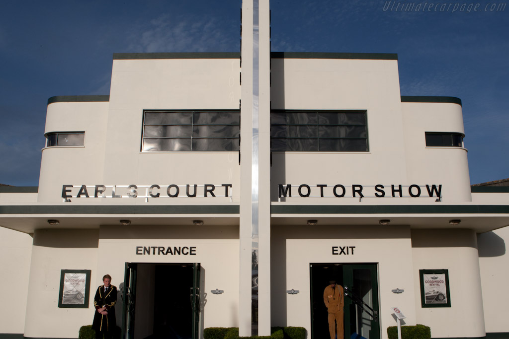 Earl's Court Motor Show    - 2010 Goodwood Revival