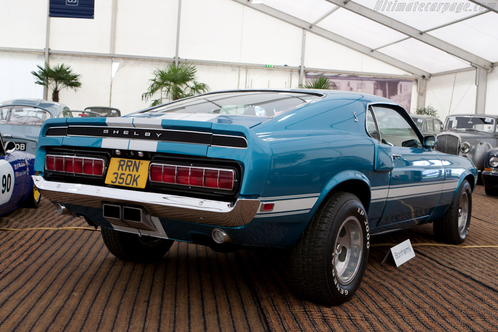 Ford Mustang Shelby GT500 Coupe   - 2010 Goodwood Revival