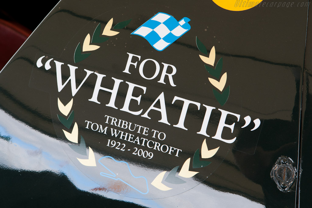 Honouring the late Tom Wheatcroft    - 2010 Goodwood Revival