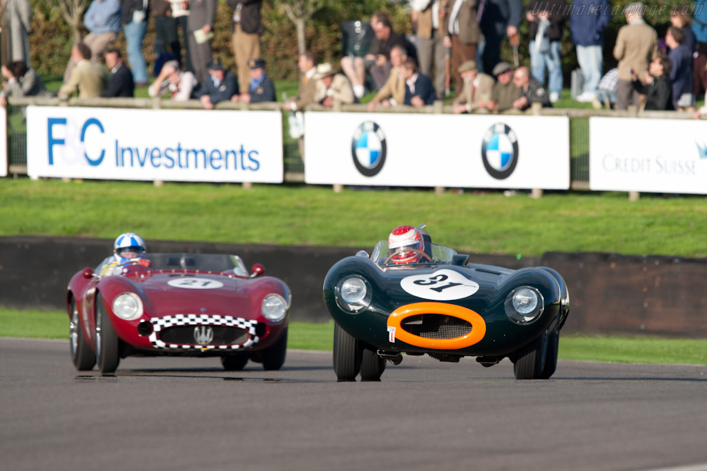Jaguar D-Type - Chassis: XKD 545   - 2010 Goodwood Revival