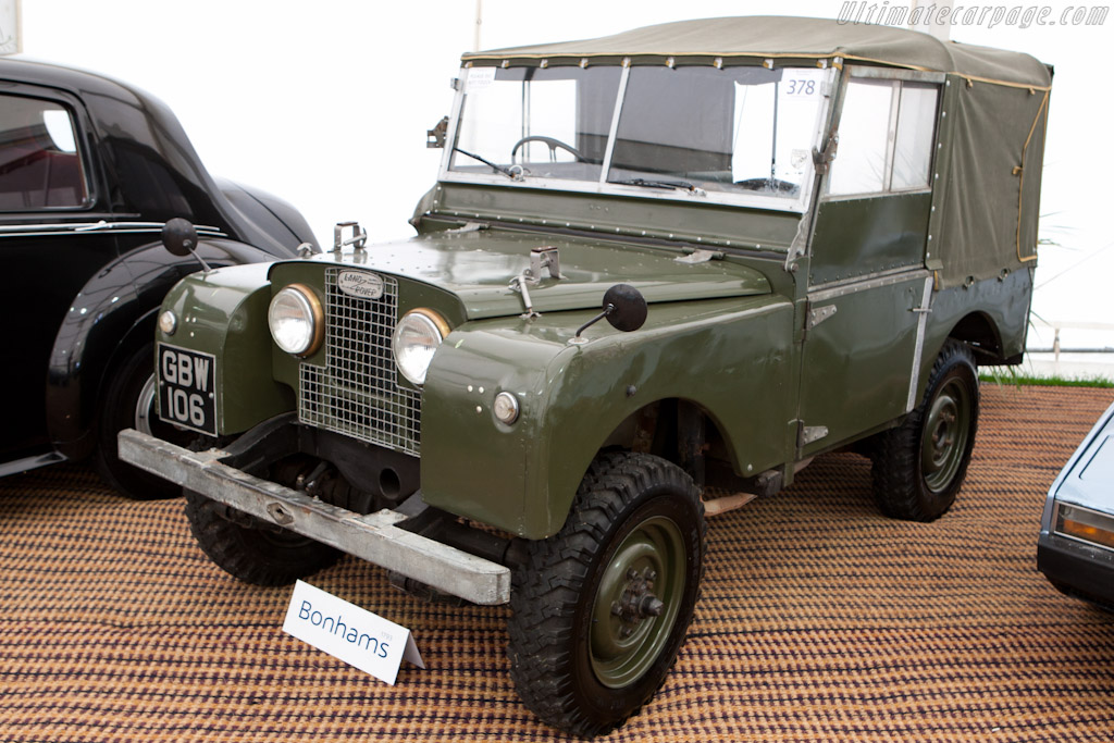 Land Rover Series I   - 2010 Goodwood Revival