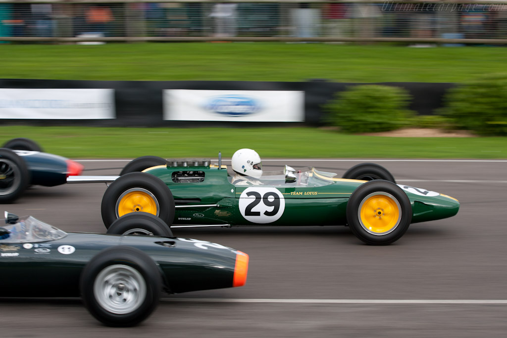 Race Car Trophy >> Lotus 25 Climax - 2010 Goodwood Revival