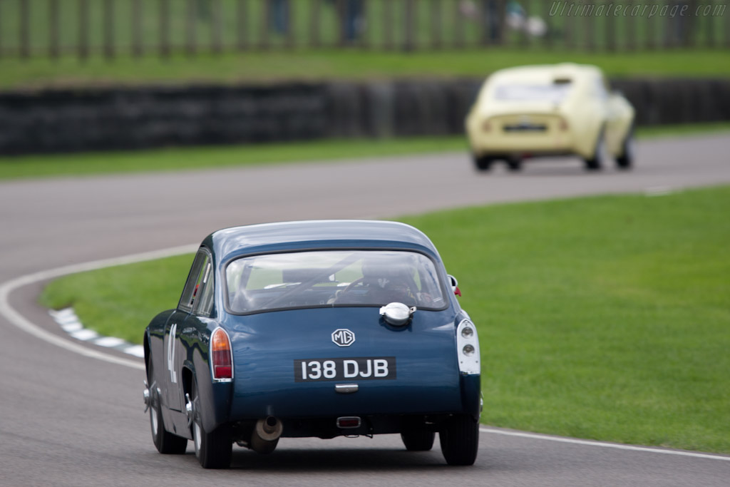 MG Midget Jacobs Coupe    - 2010 Goodwood Revival