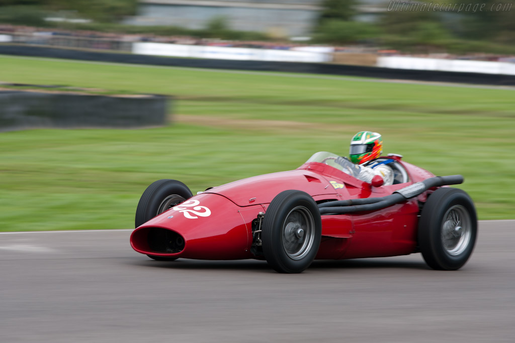 Maserati 250F    - 2010 Goodwood Revival