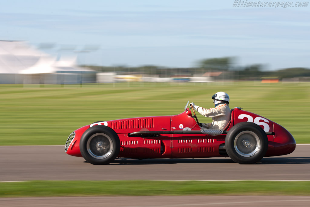maserati 4clt chassis 1604 2010 goodwood revival. Black Bedroom Furniture Sets. Home Design Ideas