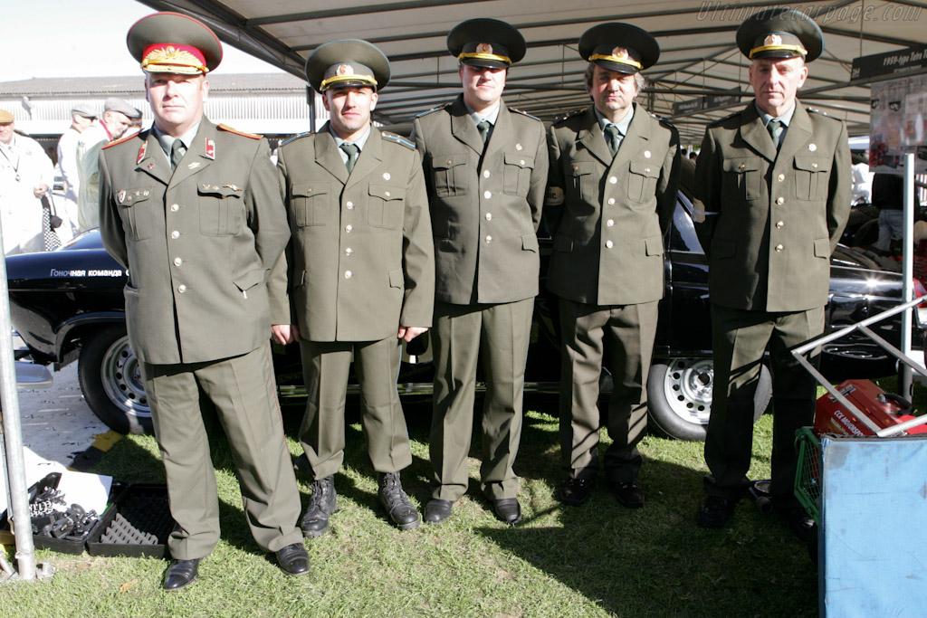 Representatives of the Kiwi KGB    - 2010 Goodwood Revival