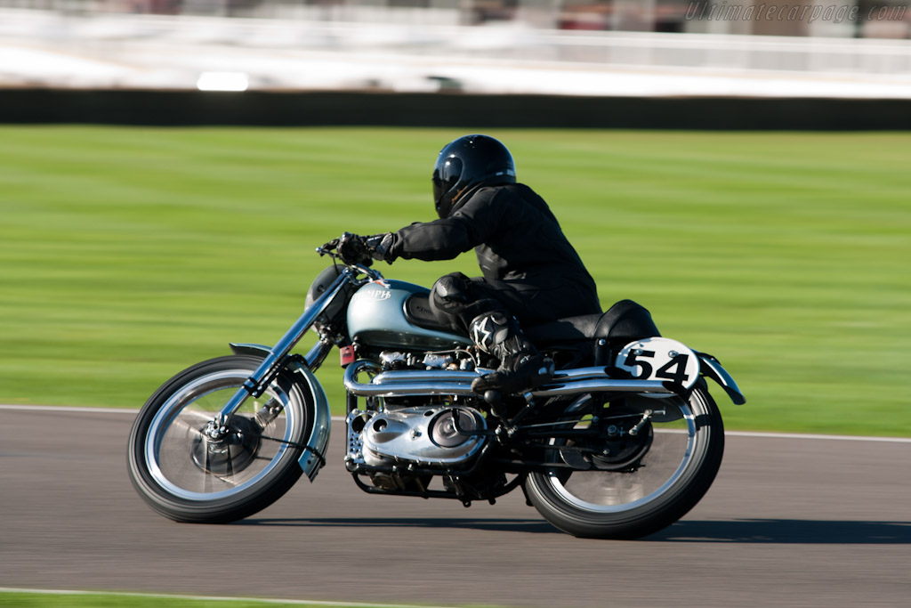 Triumph T110    - 2010 Goodwood Revival