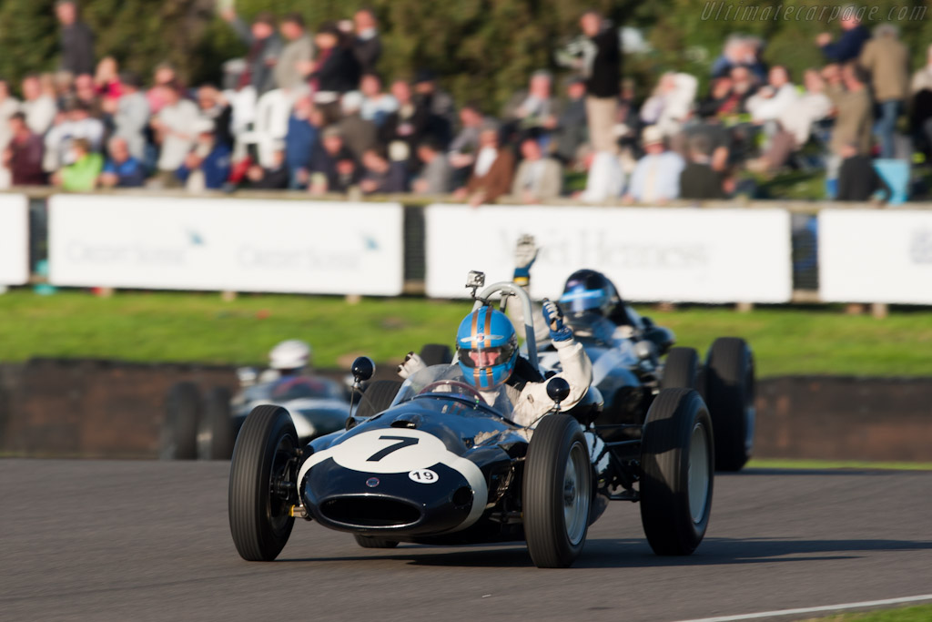 Winner Nick Wigley in a Cooper T51 Climax    - 2010 Goodwood Revival