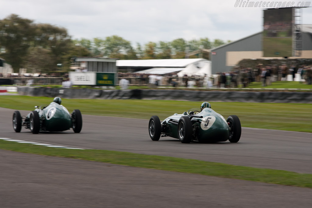 Aston Martin DBR4 - Chassis: DBR4/1 - Driver: Wolfgang Friedrichs  - 2011 Goodwood Revival