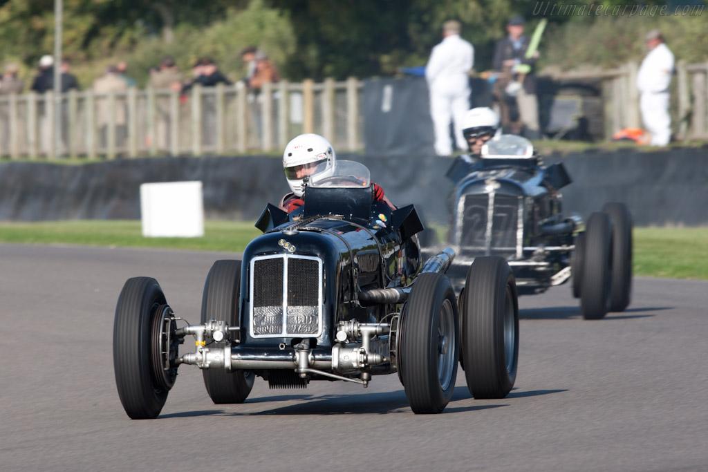 ERA R4D - Chassis: R4D   - 2011 Goodwood Revival