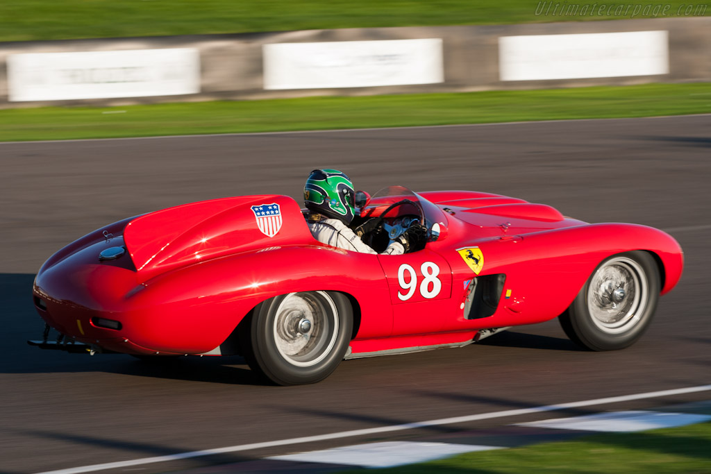Ferrari 857 S - Chassis: 0588M   - 2011 Goodwood Revival