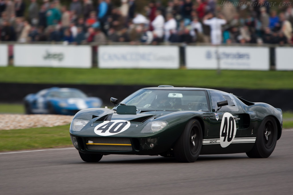 Ford GT40 - Chassis: GT40P/1009   - 2011 Goodwood Revival