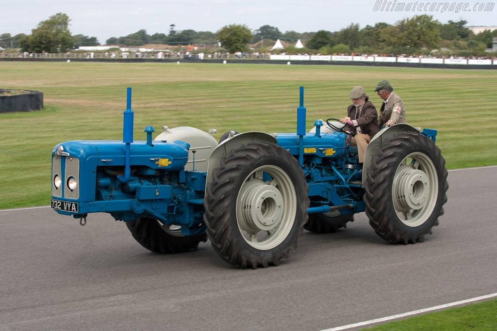 Fordson Tractor    - 2011 Goodwood Revival
