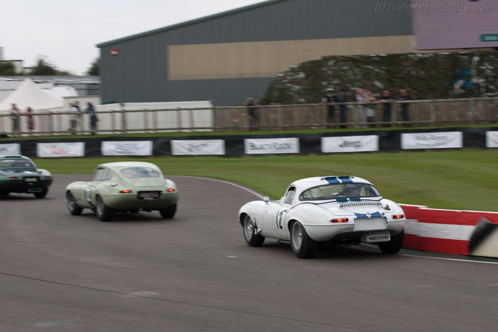 Jaguar E-Type 'Semi-Lightweight'    - 2011 Goodwood Revival