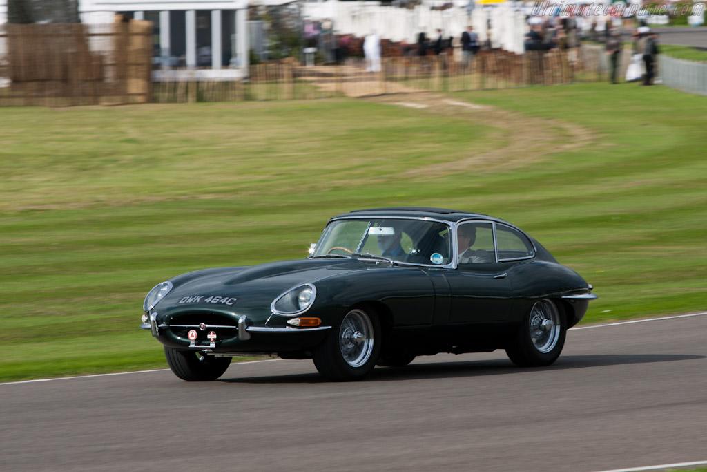 Jaguar E-Type Coupe    - 2011 Goodwood Revival