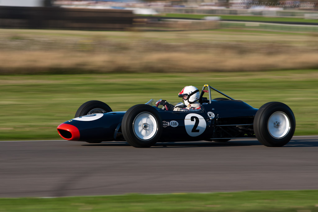 Race Car Trophy >> Lotus 24 BRM - 2011 Goodwood Revival