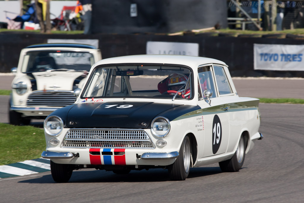Lotus Cortina    - 2011 Goodwood Revival