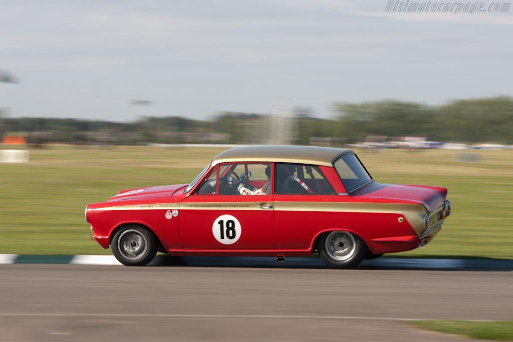 Lotus Cortina    - 2011 Goodwood Revival