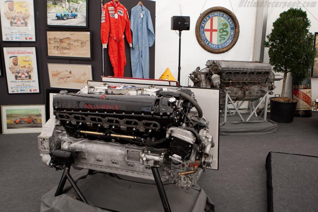 Rolls-Royce Merlin V12s   - 2011 Goodwood Revival