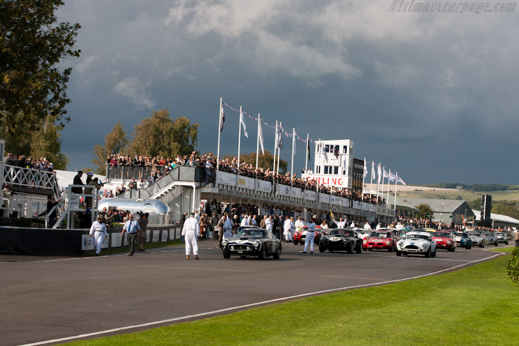 Sir Stirling leads the way - Chassis: 2735GT   - 2011 Goodwood Revival