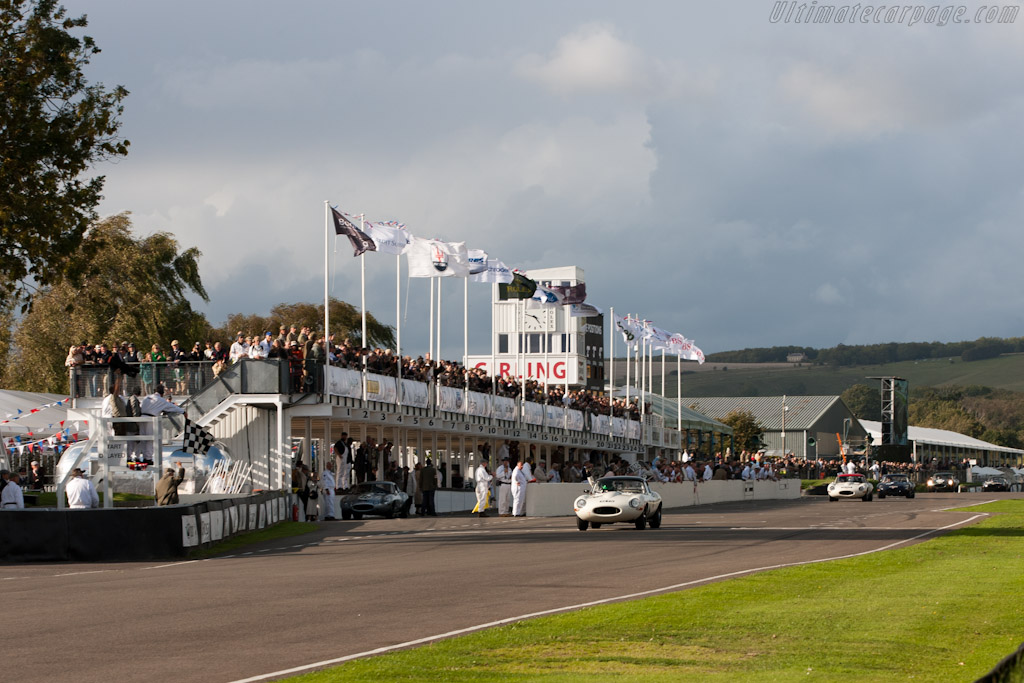 The finish   - 2011 Goodwood Revival