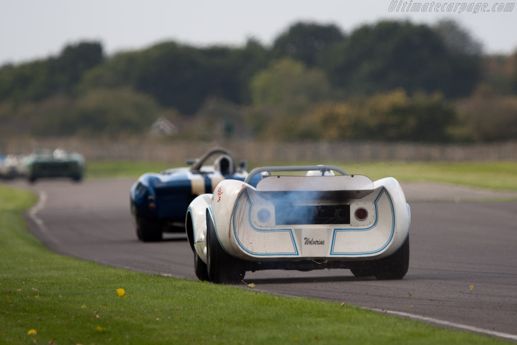 Wolverine Chevrolet - Chassis: LD65-01 - Driver: Mogens Christensen  - 2011 Goodwood Revival