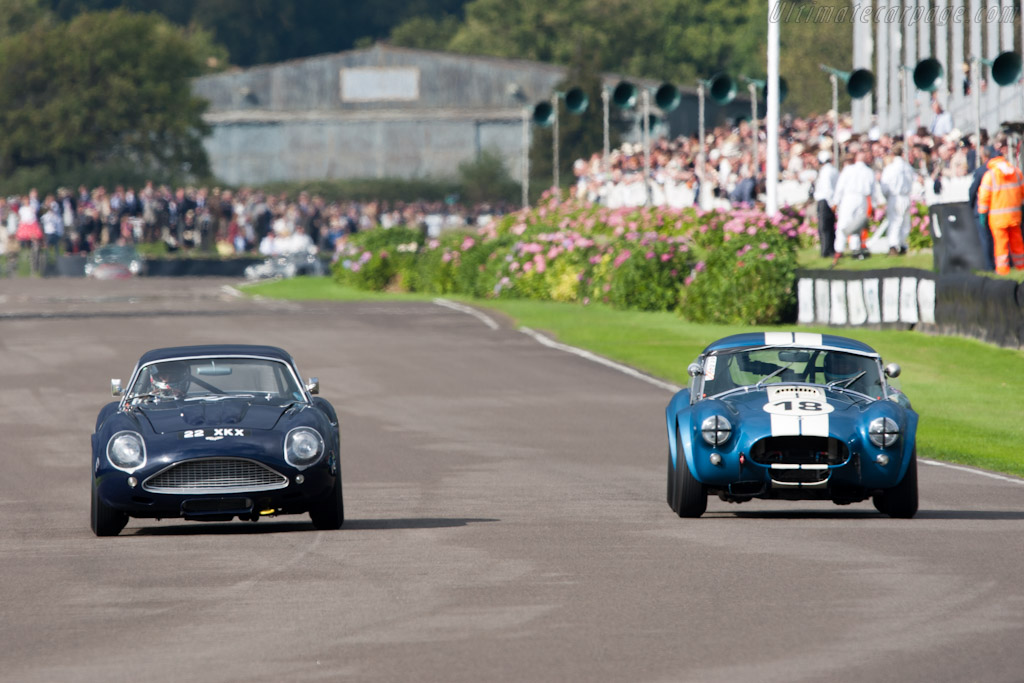 Zagato Aston vs Cobra - Chassis: DB4GT/0200/R   - 2011 Goodwood Revival