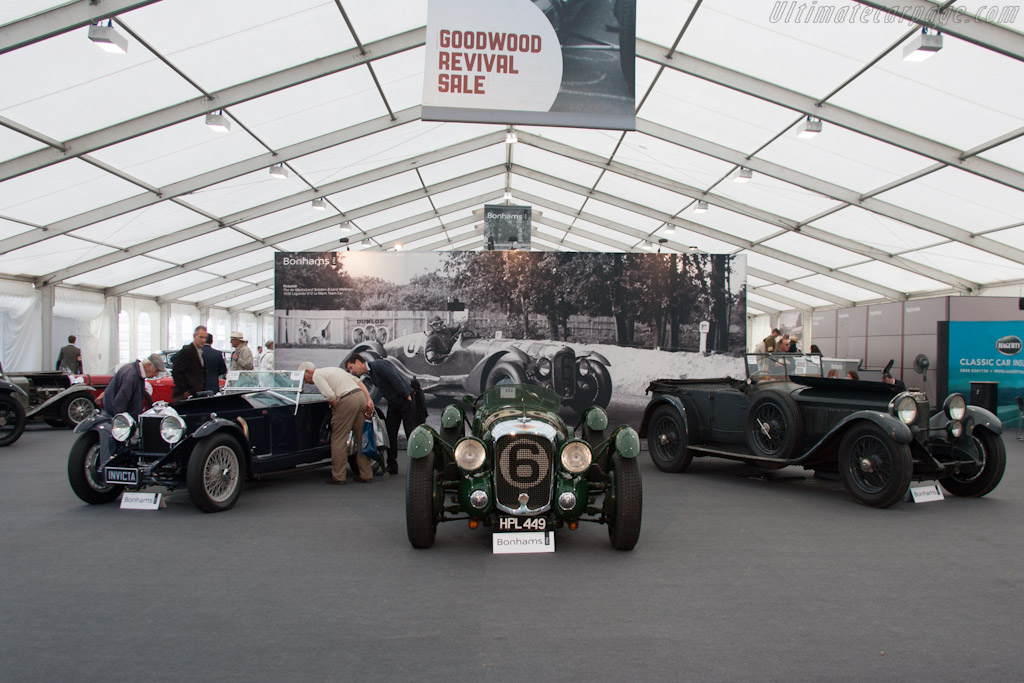 Bonhams Revival Sale    - 2012 Goodwood Revival