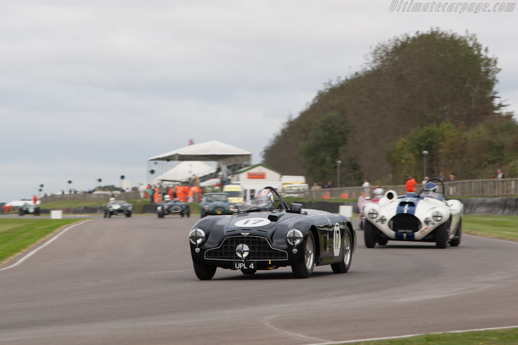 Aston Martin DB3    - 2012 Goodwood Revival