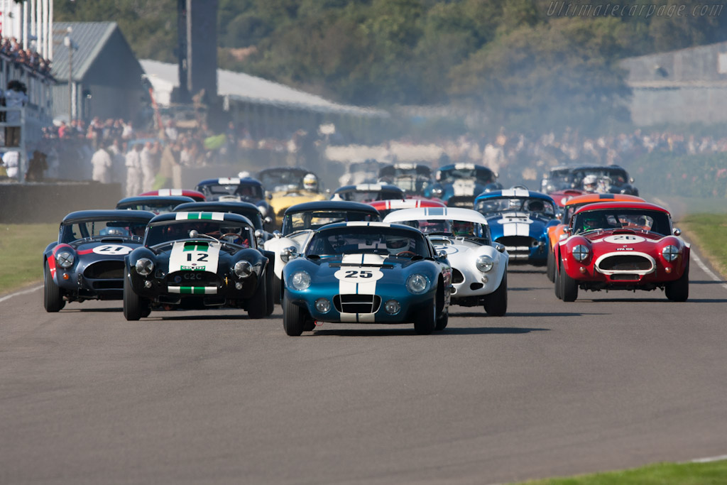 AC Shelby Cobra Daytona Coupe    - 2012 Goodwood Revival
