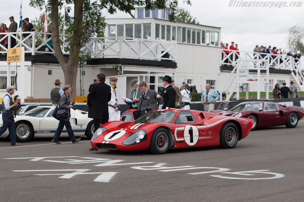 Ford Gt40 Mk4 Chassis J 5 2012 Goodwood Revival