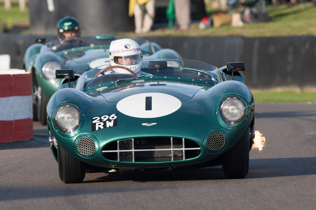 Aston Martin DBR1 - Chassis: DBR1/1 - Entrant: RS Williams ltd - Driver: Brian Redman  - 2012 Goodwood Revival