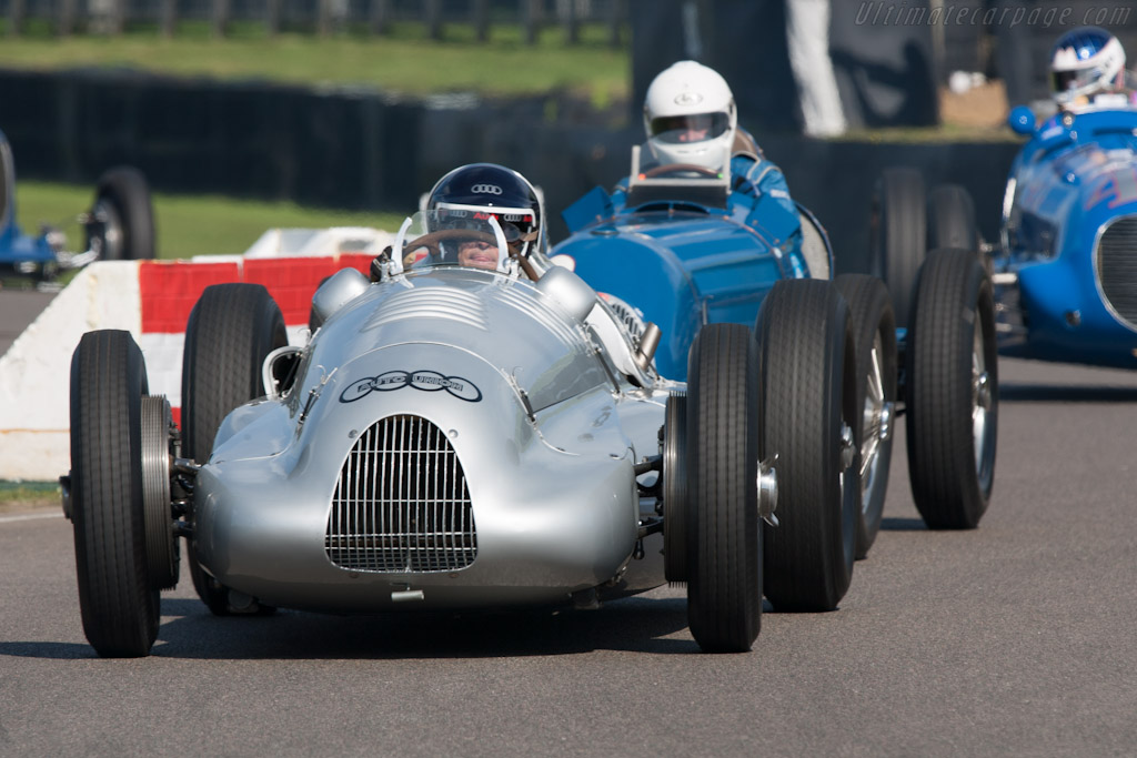 Auto Union Type D - Chassis: 017R   - 2012 Goodwood Revival