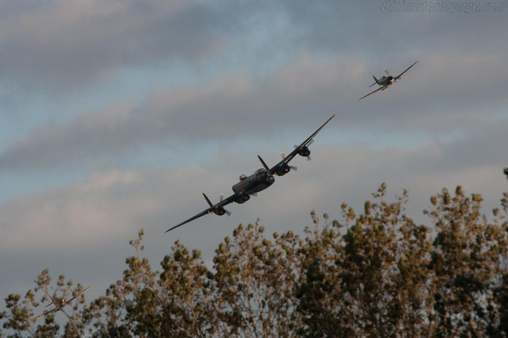 Battle of Britain Memorial Flight    - 2012 Goodwood Revival