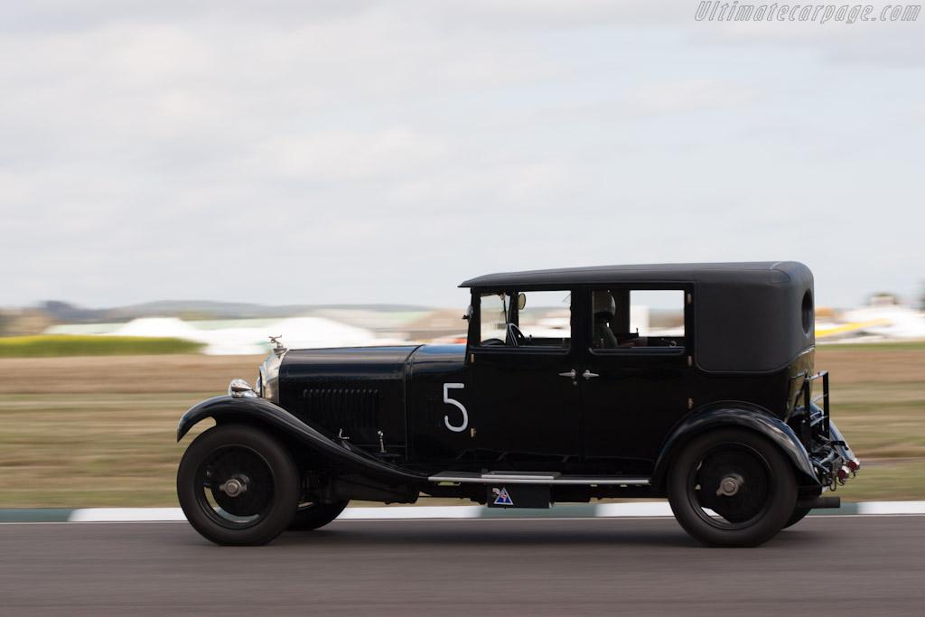 Bentley 4.5 Litre Saloon    - 2012 Goodwood Revival