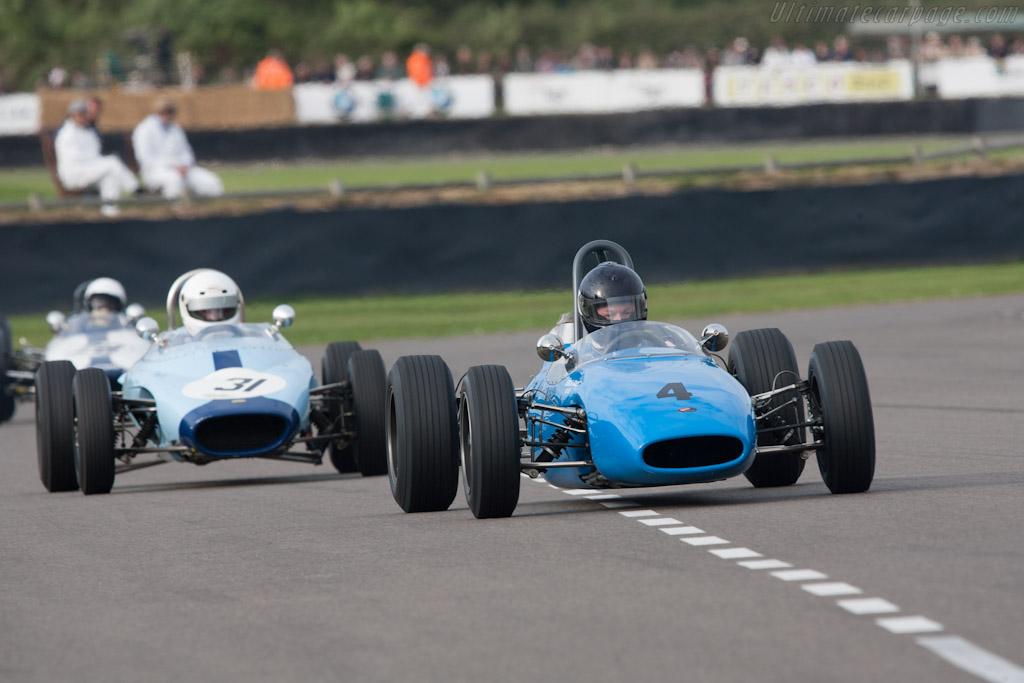 Brabham BT10 Ford    - 2012 Goodwood Revival