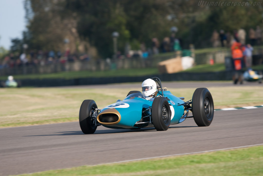 Brabham BT3 Climax - Chassis: F1-1-62   - 2012 Goodwood Revival