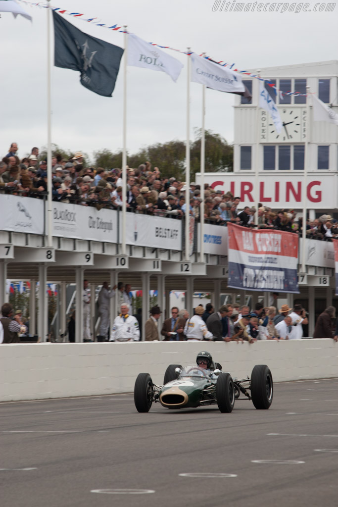 Brabham BT7 Climax - Chassis: F1-1-63   - 2012 Goodwood Revival