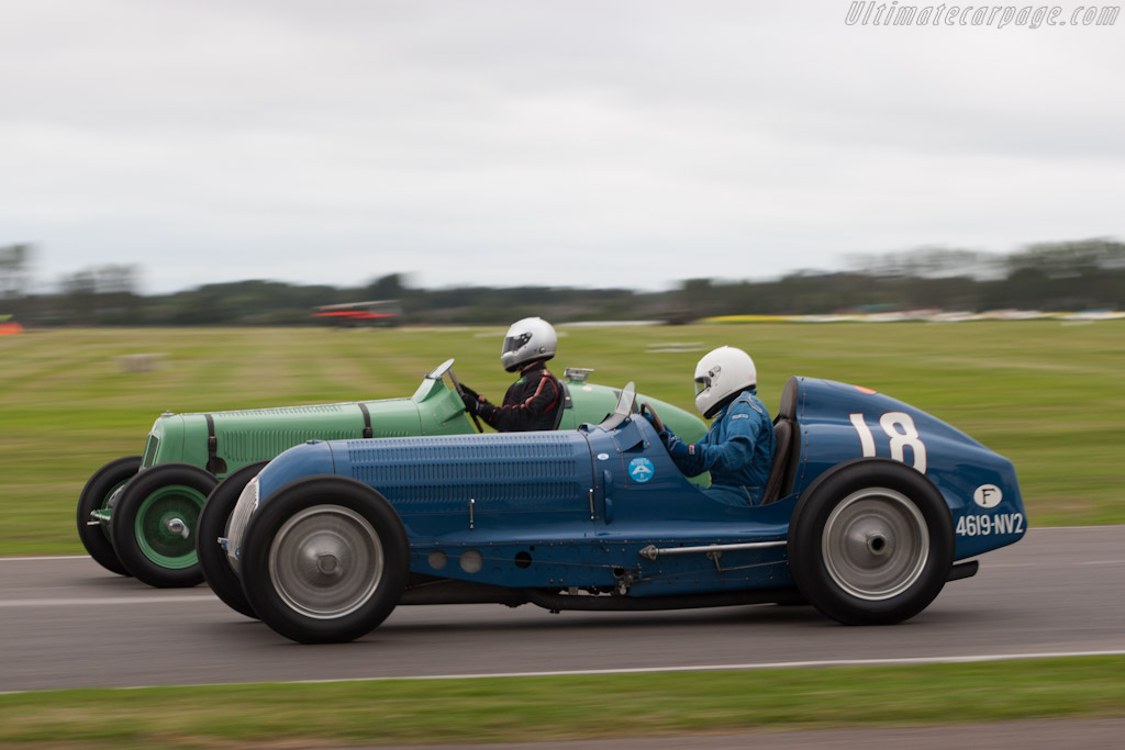 Race Car Trophy >> Bugatti Type 59/50B III - Chassis: 441352 - 2012 Goodwood Revival