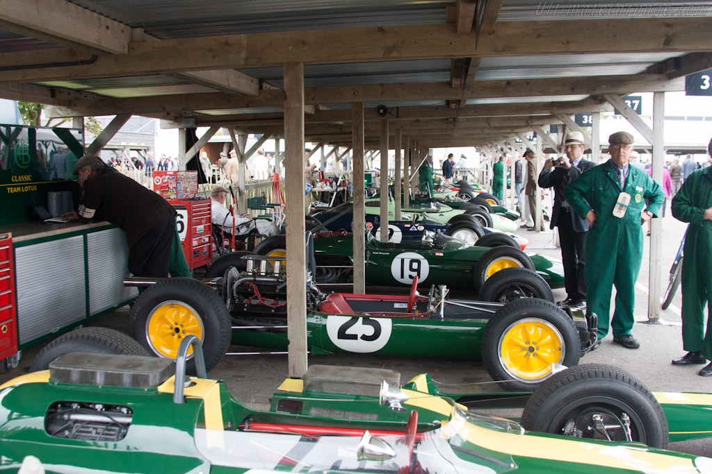 Classic Team Lotus    - 2012 Goodwood Revival
