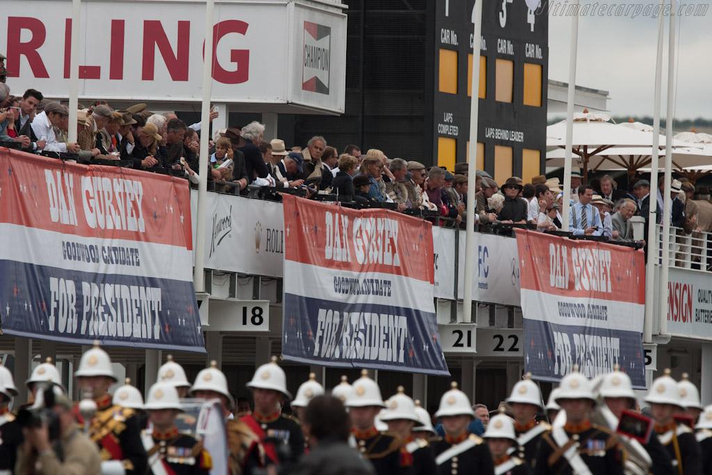 Dan Gurney for President    - 2012 Goodwood Revival