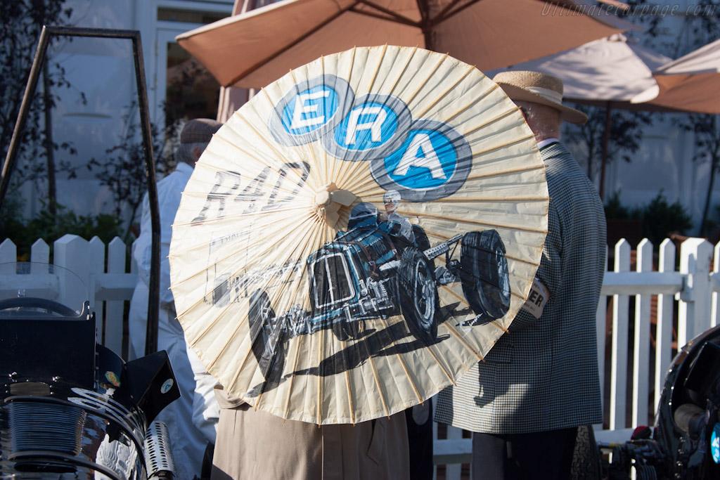 ERA umbrella    - 2012 Goodwood Revival